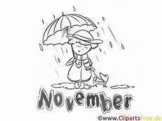 november bild monatsbilder ausmalbilder