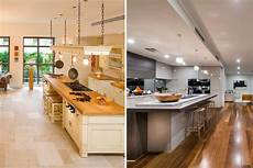 Kitchen Floor Tile Or Hardwood by Best Flooring For The Kitchen A Buyers Guide
