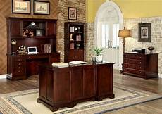 cherry home office furniture desmont cherry office desk from furniture of america cm