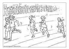 sports day coloring pages 17757 sprint colouring page sports day pictures sports day sports coloring pages