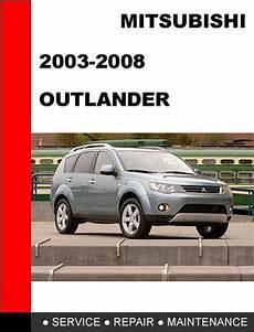 car manuals free online 2007 mitsubishi outlander windshield wipe control mitsubishi outlander 2003 2008 service repair manual download man