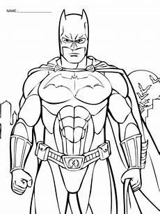 batman coloring sheets