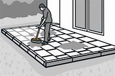 Terrassenplatten Verlegen Anleitung Hornbach