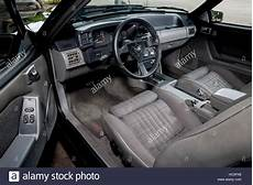 how to fix cars 1989 ford mustang interior lighting 1989 fox body shape ford mustang gt interior stock photo 127976192 alamy