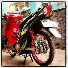 Modifikasi Shogun 125 R 2004 by Suzuki Shogun 125 R Modifikasi Thecitycyclist