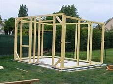 brise vue bois plan abris jardin ossature bois 01