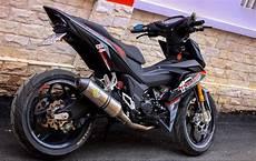 Modifikasi Supra Gtr 150 by Aripitstop 187 Honda Supra Gtr150 Ini Sudah Tidak Elegan Lagi