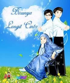 Gambar Kartun Islami Xtra Two