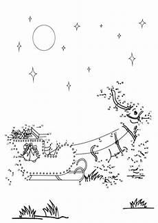Ausmalbilder Weihnachten Nach Zahlen Malen Nach Zahlen Weihnachten Zum Ausdrucken