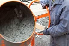 beton selber machen mischungsverhältnis estrichbeton selber mischen