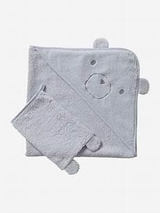 cape de bain bio cape de bain gant coton bio blanc vertbaudet