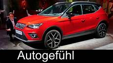 Seat Arona World Premiere Review All New Suv Neu