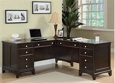 l shaped home office furniture garson home office l shaped desk from coaster 801011l
