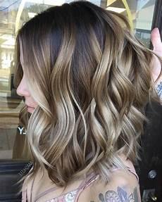 10 Balayage Ombre Frisuren F 252 R Schulterlanges Haar