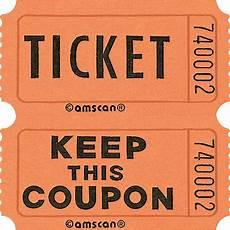 Orange Roll Raffle Tickets 2000ct City