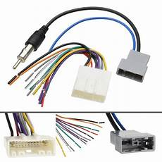 94 nissan truck stereo wiring car dvd radio install stereo wire harness cable plugs antenna adapter for nissan 692650332190 ebay