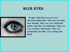 What Does Your Eye Color Say About You Your