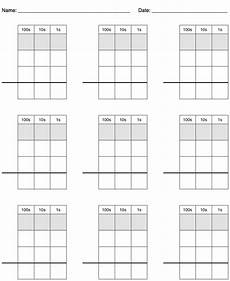 subtraction worksheets with grid lines 10162 nwedible math problem grid paper 100s thumbnail teaching subtraction addition and