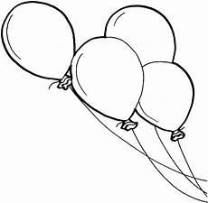 Malvorlagen Ausmalbilder Luftballon Luftballons 2 Ausmalbild Malvorlage Kinder