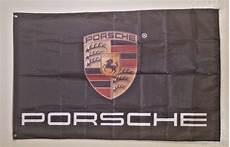 porsche logo 3x5 garage wall banner flag cave sign