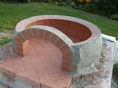 Pizzaofen Bauen Ziegel Oval Pizzauuni