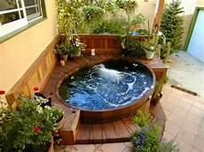 ideas for garden decoration garden hot tubs little