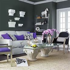 Gray Color Scheme For Living Room