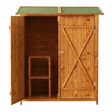 armadietti in legno outsunny casetta armadio box da giardino ripostiglio porta