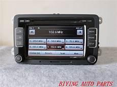 used 5k0035190b radio eu rcd510 with code original for vw