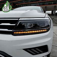 en car styling for vw tiguan headlights 2017 new tiguan