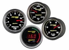 Auto Meter Pro Comp Gauges Racing