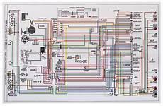 Wiring Diagram 1971 Skylark Special 11x17 Color