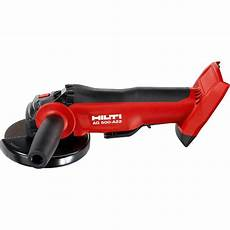 hilti 22 volt lithium ion cordless 5 in angle grinder ag