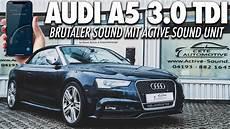 sportlich soundmodul im audi a5 3 0 tdi cabrio active