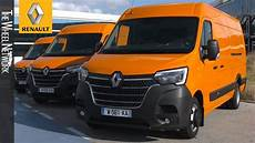 the new renault master and renault trafic media drive
