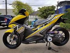 Yamaha Aerox 155 Modifikasi by 30 Gambar Modifikasi Yamaha Aerox 155 Keren Elegan
