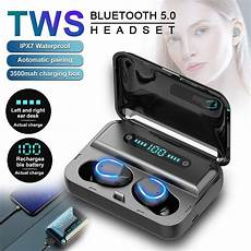 Bluetooth Digital Display Earphone Smart Touch by Bluetooth Earphones Tws 5 0 Smart Touch Led Display
