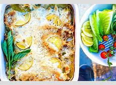 creamy rice and parmesan spoon bake_image
