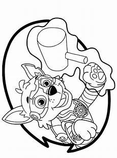 n de malvorlage paw patrol mighty pups rocky