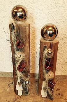 dekorieren mit holz edel dekorierter holzbalken handarbeiten