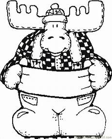 moose coloring pages getcoloringpages