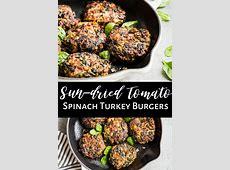 gluten free spinach tofu turkey burgers_image