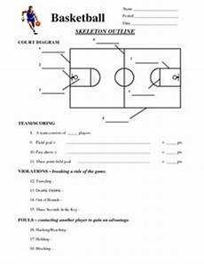 basketball 6th 10th grade worksheet lesson planet