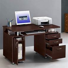 techni mobili complete computer desk chocolate bj s wholesale club