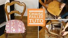 relooker une chaise tuto comment relooker une chaise en paillage