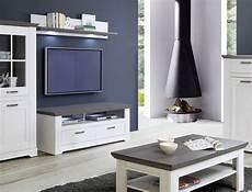 tv board gaston 25 weiss grau 145x54cm beleuchtung