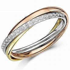 4mm 9ct 3 colour gold diamond cut effect russian style wedding ring russian rings at elma uk