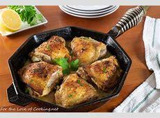 Roasted Garlic Glazed Chicken With Lemon Herb Sauce image