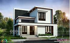 4 bedroom house plans kerala style architect simple modern 4 bedroom 1992 sq ft house design kerala
