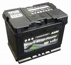 intact agm start stop power autobatterie agm600 12v 60ah